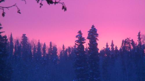 Watson Lake - sunrise