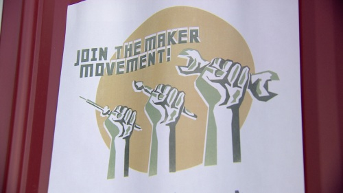maker movement poster
