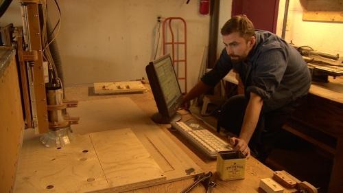 Yukonstruct - milling machine Andrew Kalek