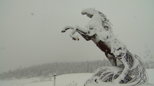 whitehorse snow